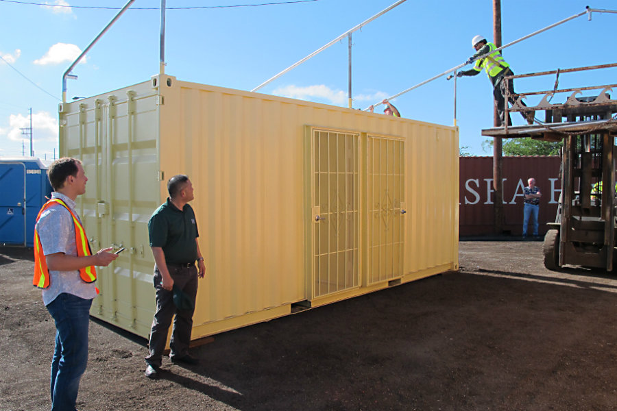 Shipping containers make headway as housing options.
